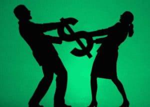 divorce or bankruptcy first