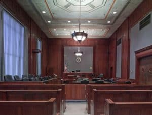 Bankruptcy court room