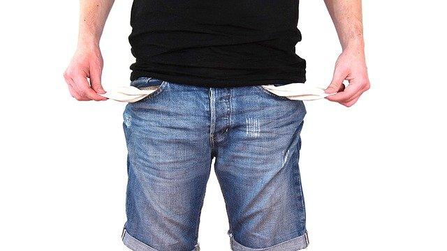 no money for taxes